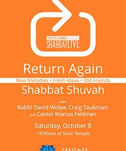 Shabbat Live at Sinai Temple